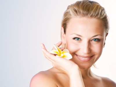 Beautiful Spa Woman Face
